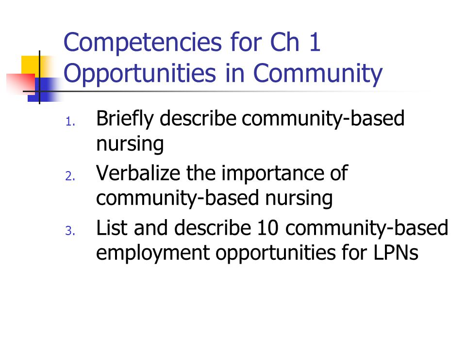 WHAT IS COMMUNITY HEALTH CARE.