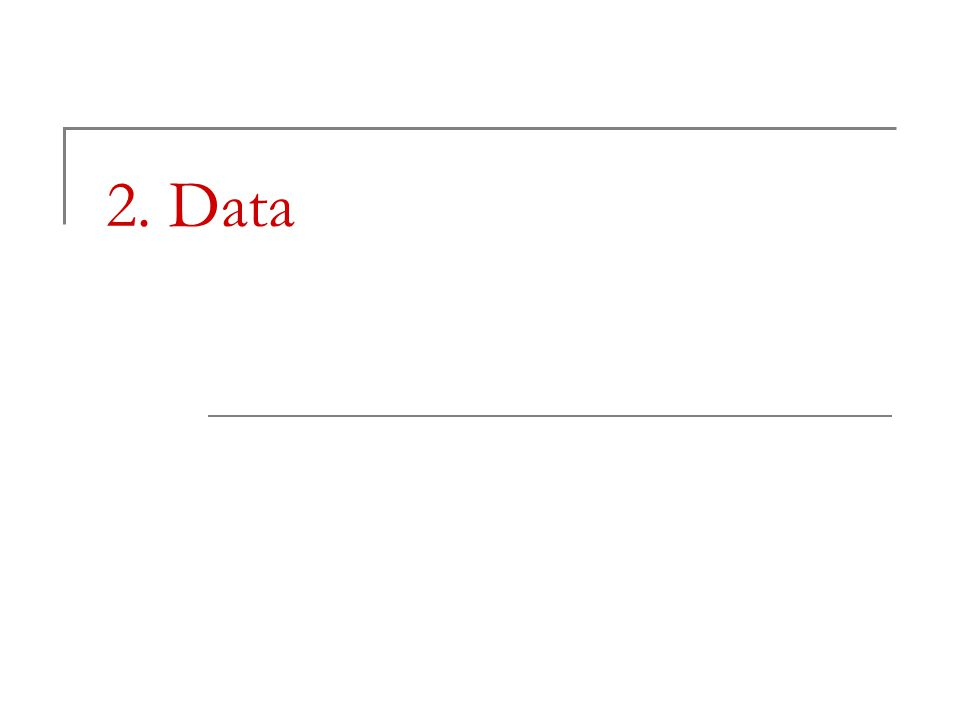 2. Data