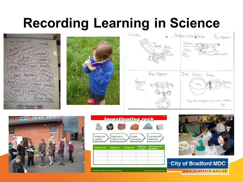 Recording Learning in Science