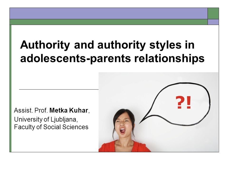 Course of the Interactions in Situations Challenging Parental Authority (coded open answers from vignettes)