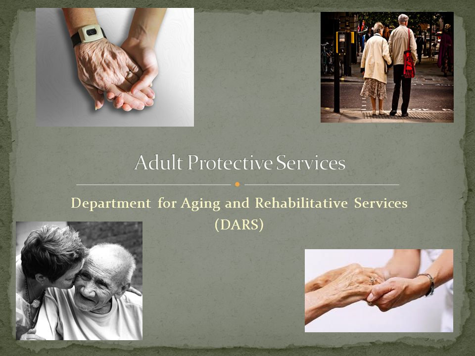 Need for Protective Services No Longer Exists The subject of the report no longer needs protective services.