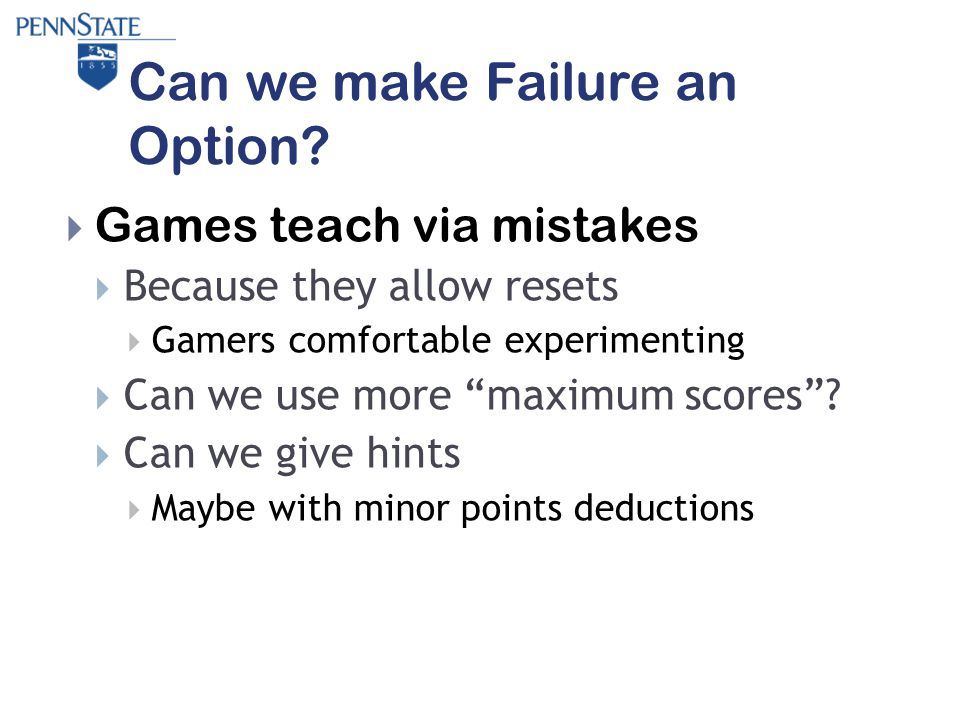 Can we make Failure an Option.