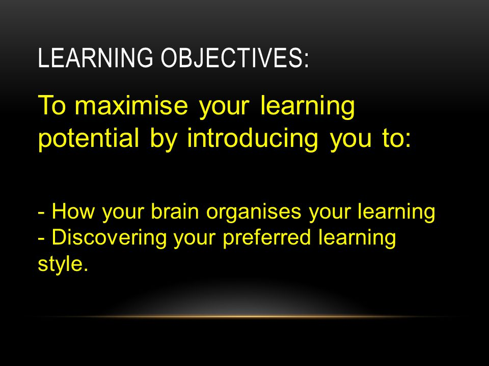 TEST YOUR STYLE OF LEARNING – ANSWER THE FOLLOWING QUESTIONS IF YOU CAN.