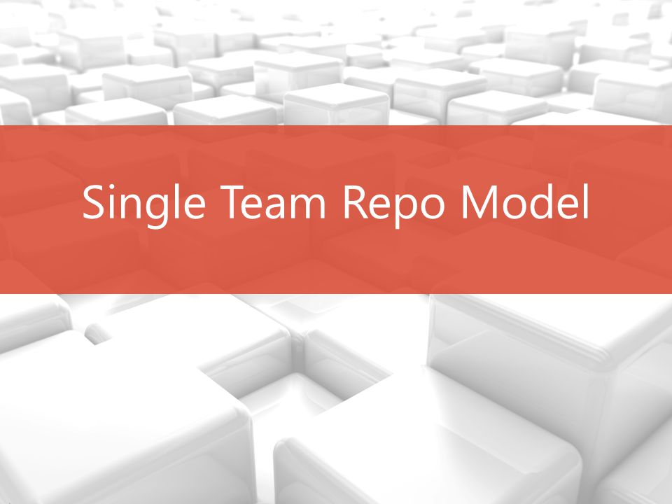 Slide 7 The missing link Every team member will have their own local repository.