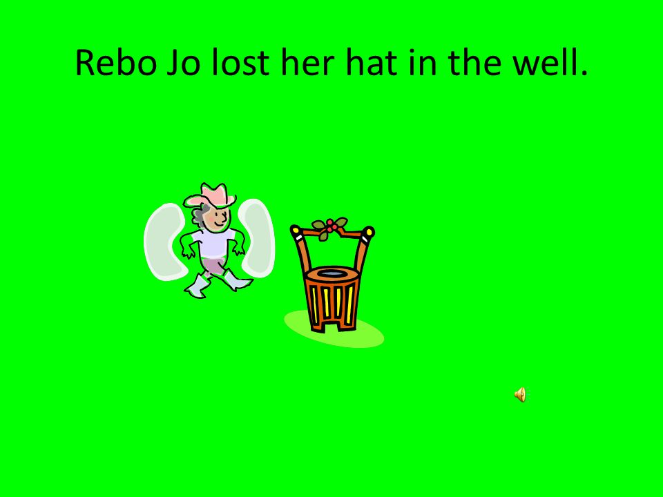 11. What happened just before the toad spoke to Reba Jo.