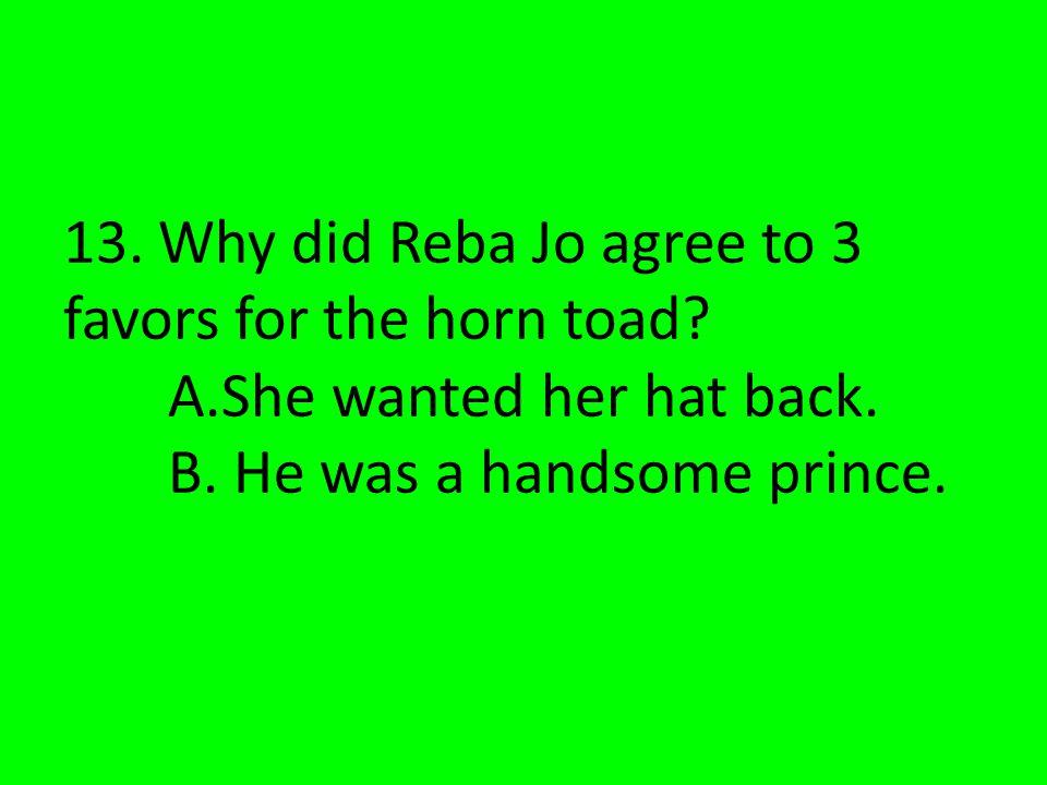Reba Jo like to lasso cacti.