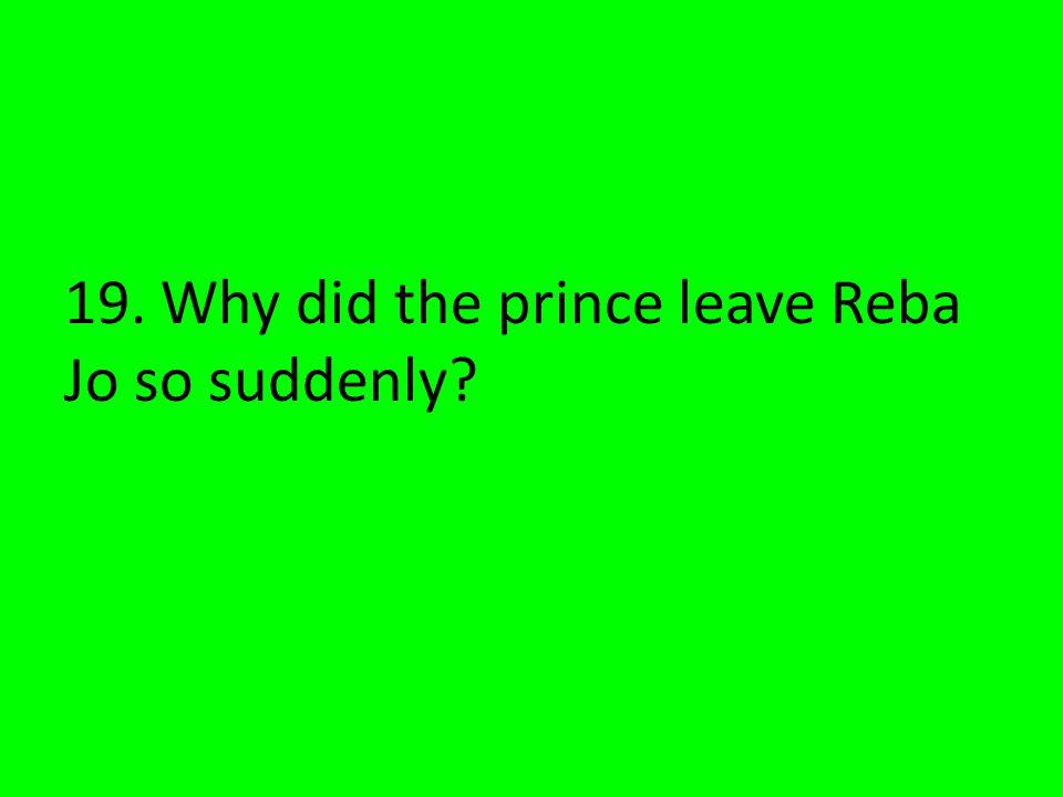 He was a Spanish prince.
