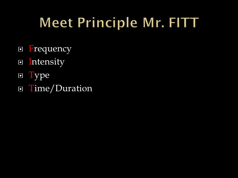  Frequency  Intensity  Type  Time/Duration