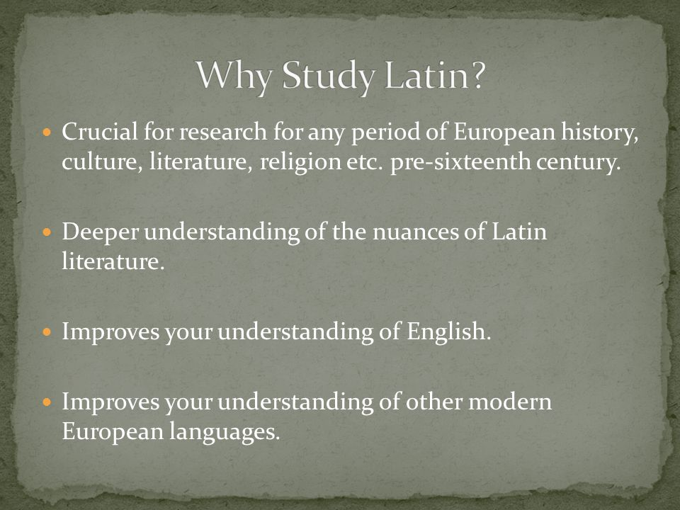 Crucial for research for any period of European history, culture, literature, religion etc.