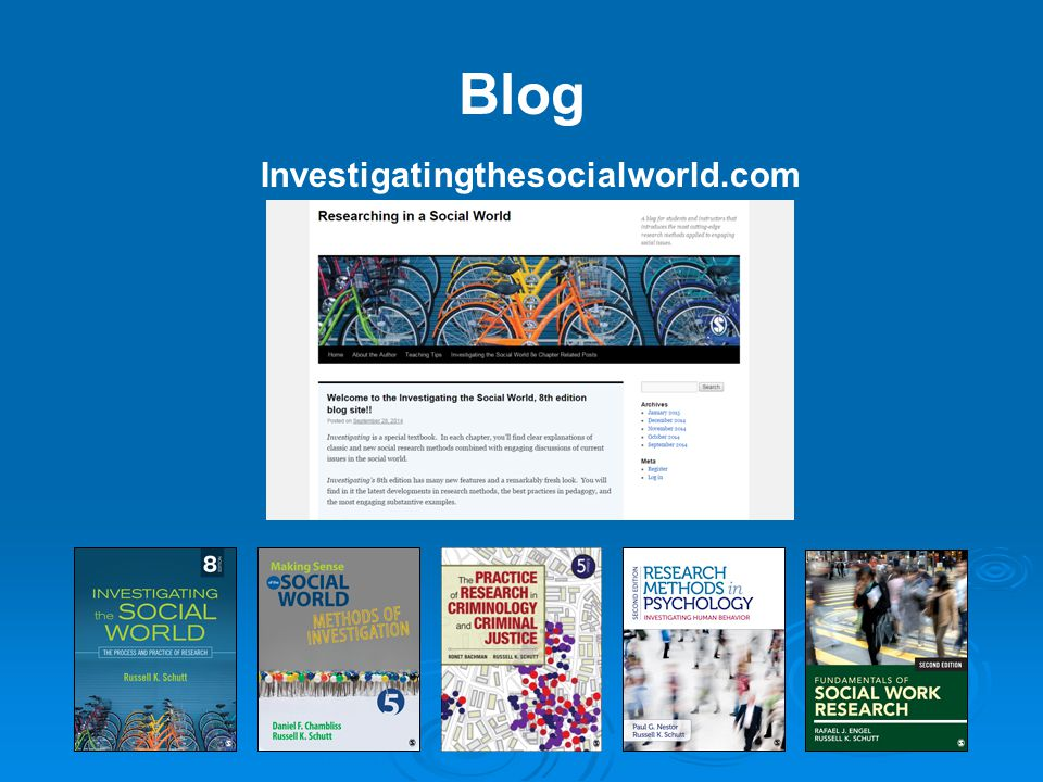 Blog Investigatingthesocialworld.com