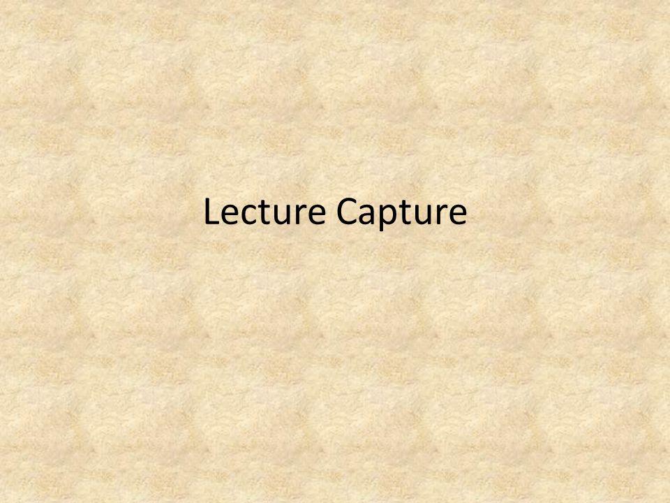 Lecture Capture