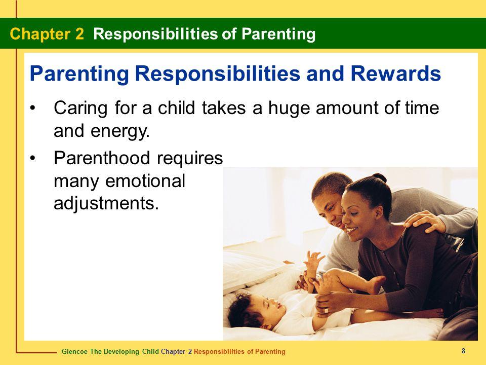 Glencoe The Developing Child Chapter 2 Responsibilities of Parenting Chapter 2 Responsibilities of Parenting 8 Parenting Responsibilities and Rewards