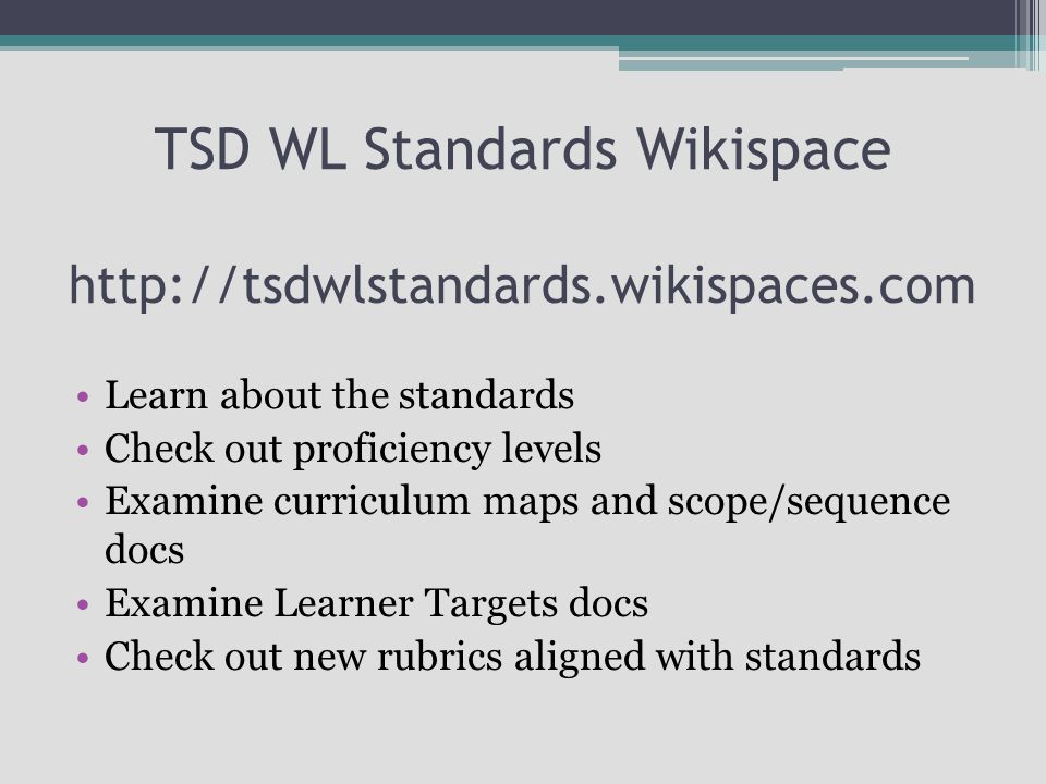 Today's Essential Question How do teachers design instruction aligned with the Colorado World Languages standards?