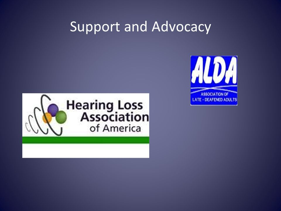 Support and Advocacy