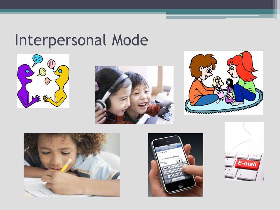 Interpersonal Mode