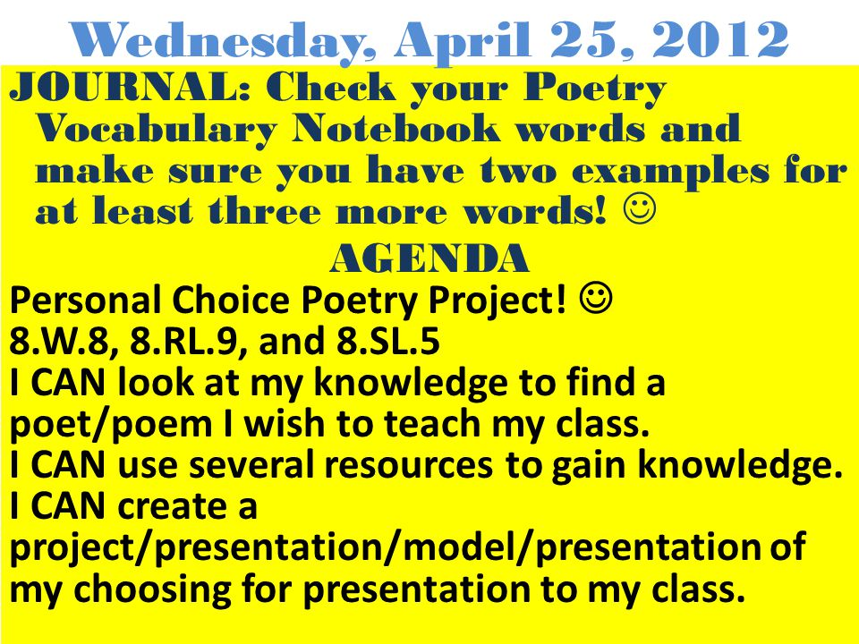 JOURNAL: Write this in your journal and leave space between each: Group #1Group #2Group#3 AGENDA Journal Activity/Discussion Get iPads Take Pre-Test/R