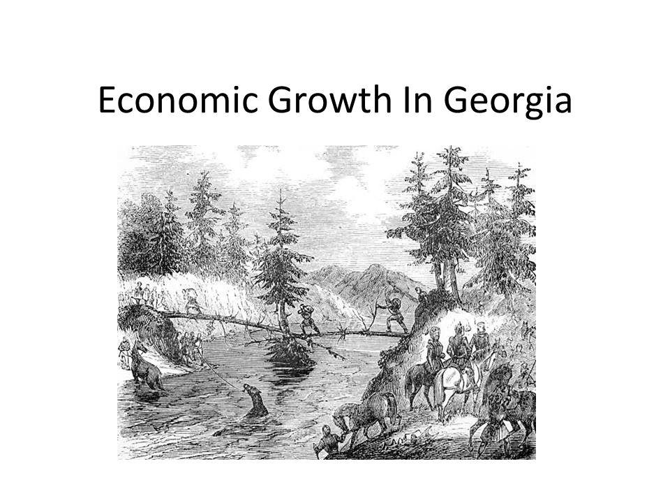 Economic Growth In Georgia