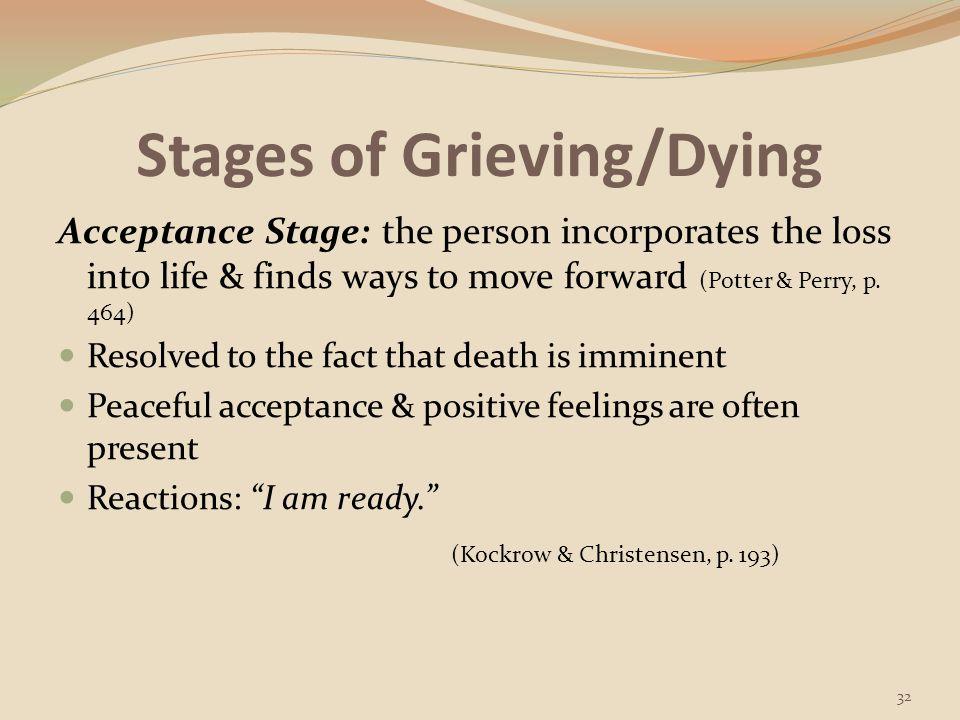 Factors Influencing Loss & Grief Responses 33