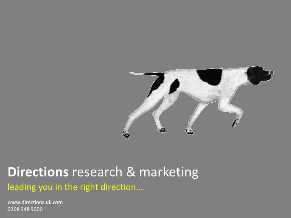 71 Directions research & marketing leading you in the right direction...