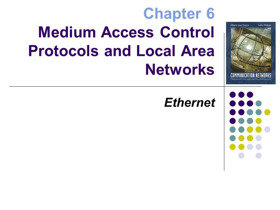 Encapsulation of MAC frames IP LLC Header Data MAC Header FCS LLC PDU IP Packet