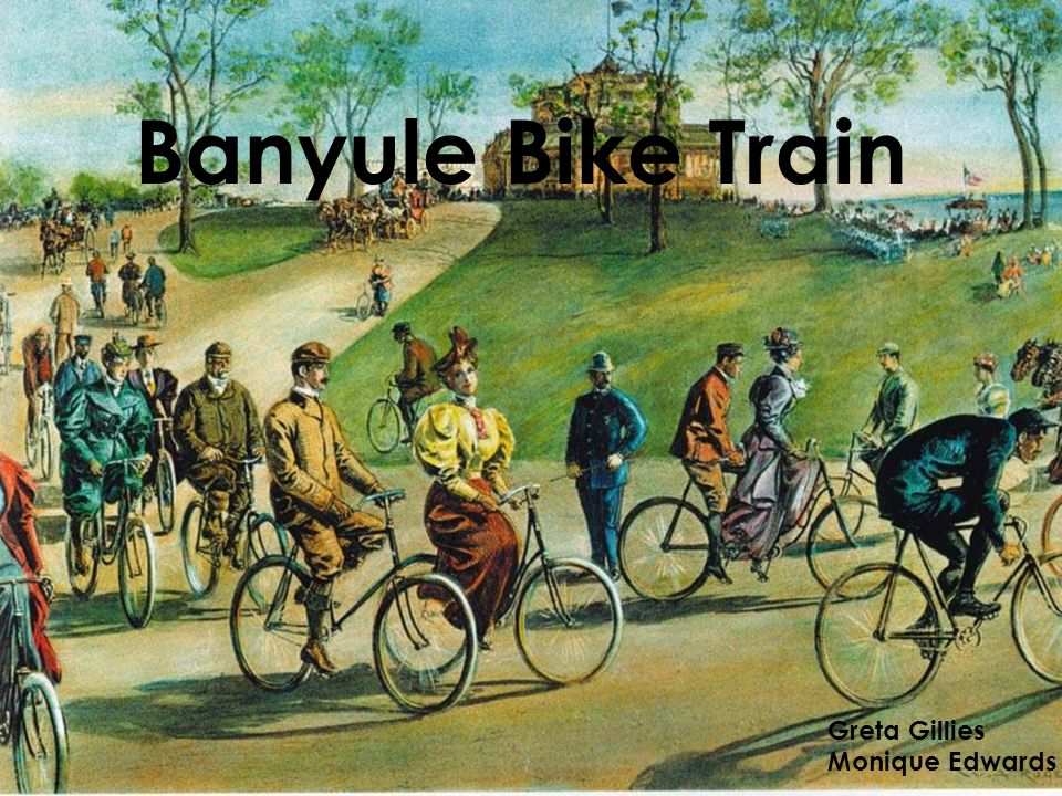 Banyule Bike Train Greta Gillies Monique Edwards