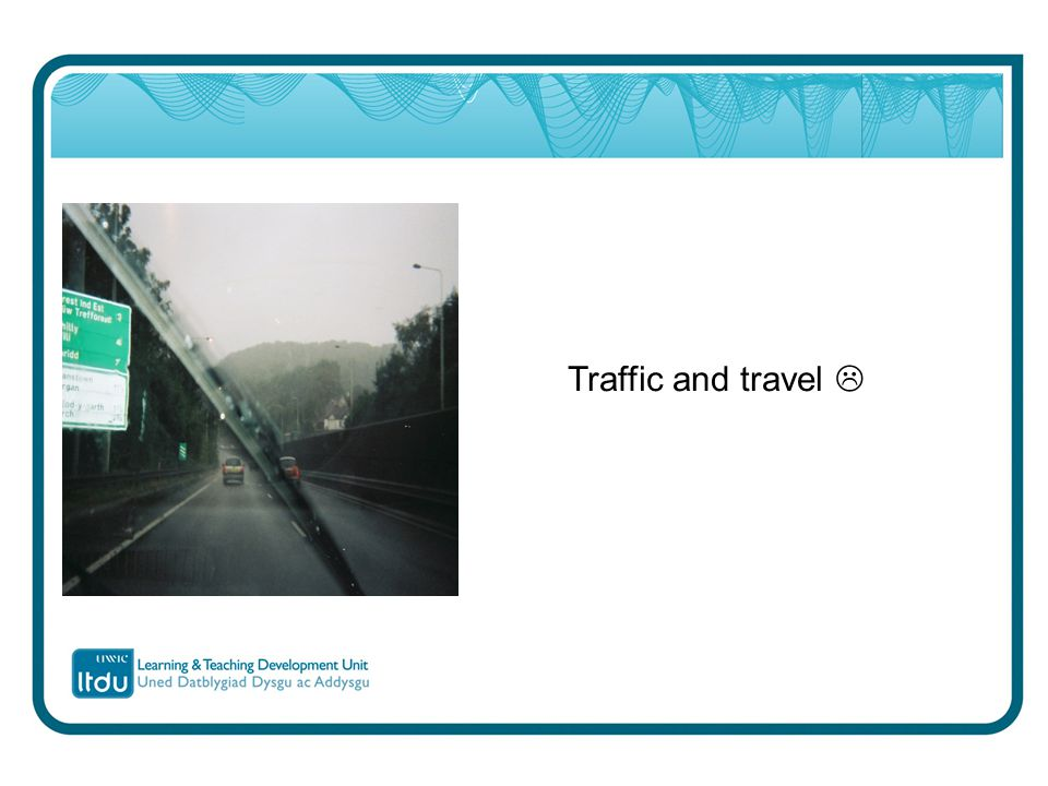 Traffic and travel 