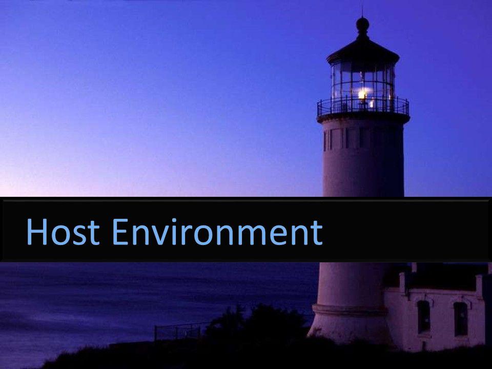 Host Environment