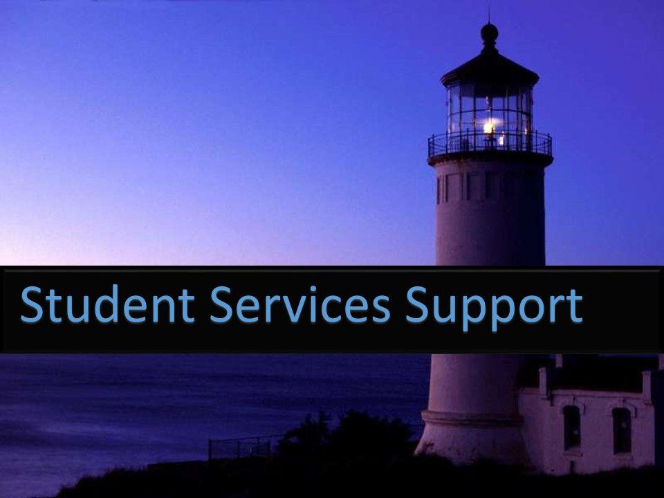 Student Services Support Student Services Support