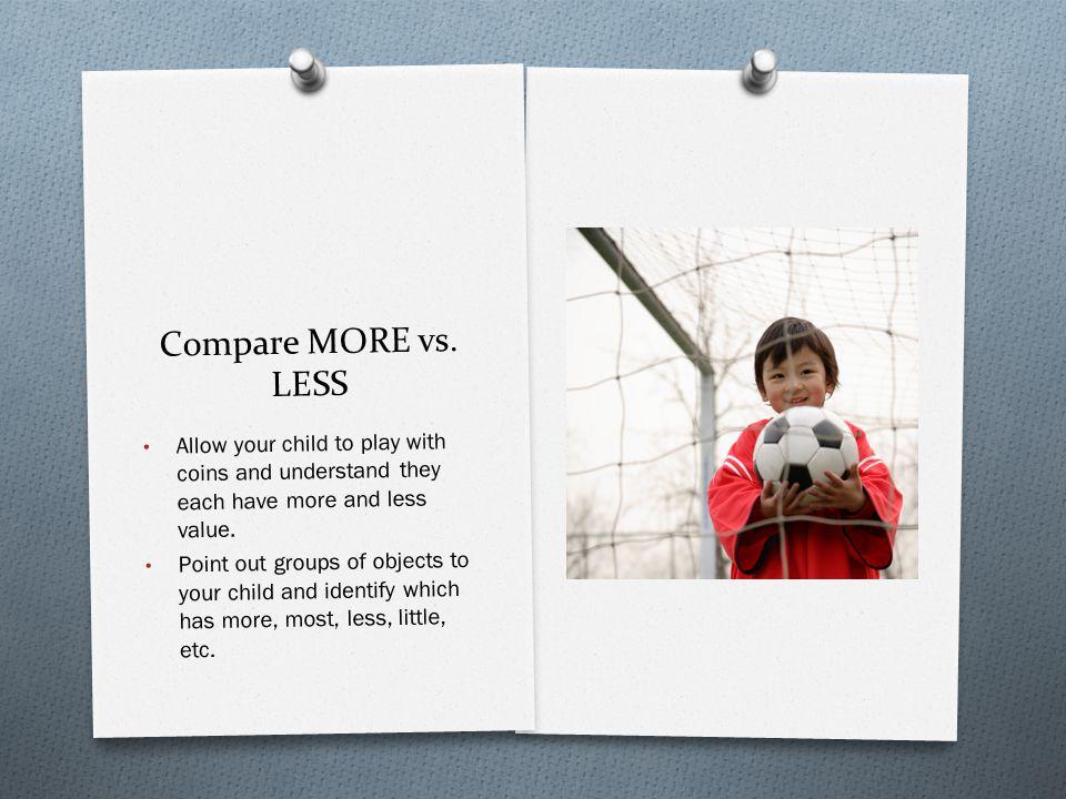 Compare MORE vs.
