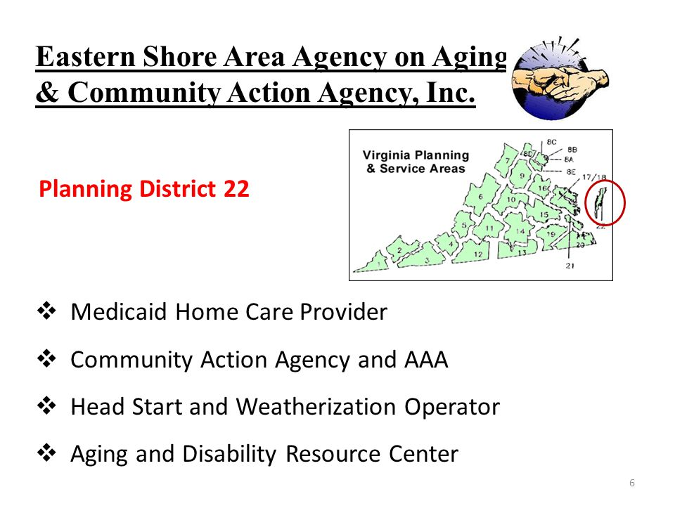 Eastern Shore Area Agency on Aging & Community Action Agency, Inc.