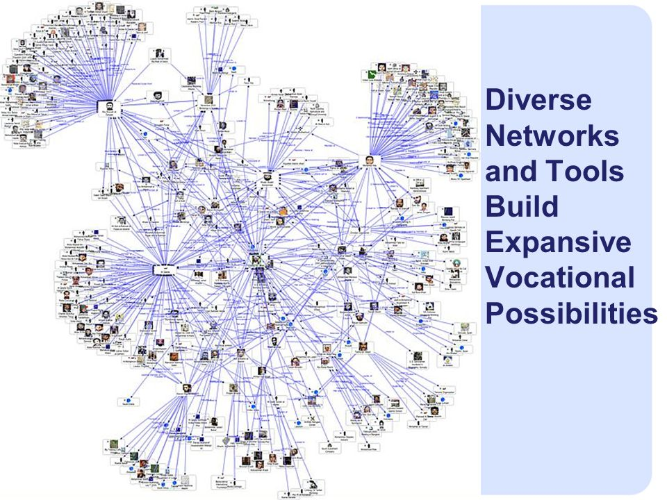 Diverse Networks and Tools Build Expansive Vocational Possibilities