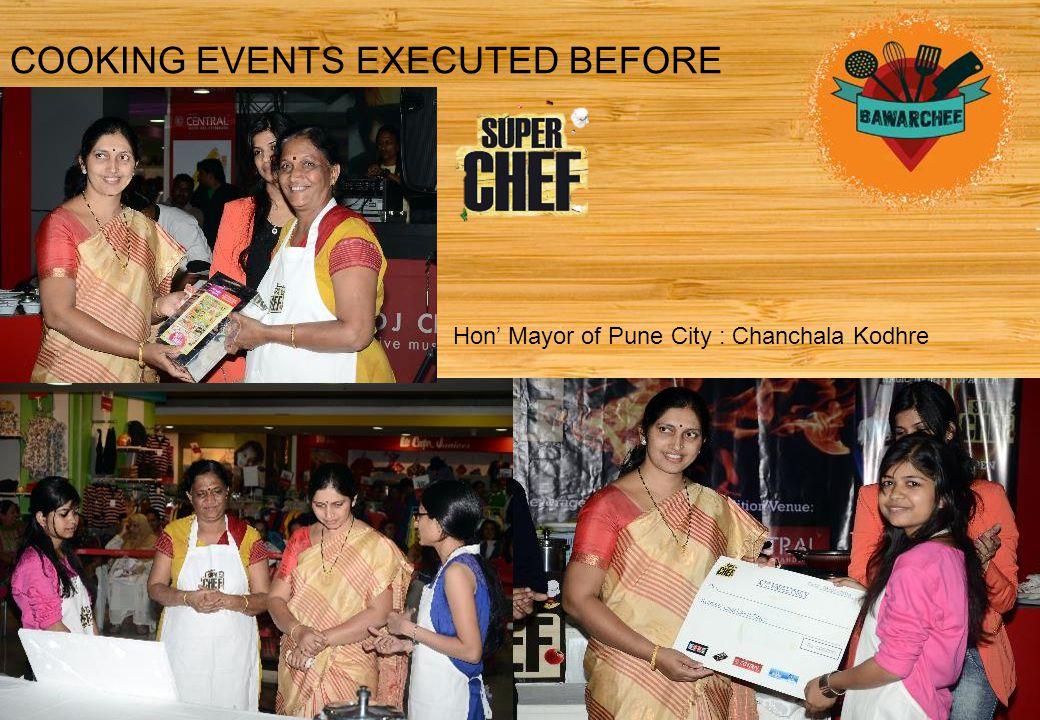 Hon' Mayor of Pune City : Chanchala Kodhre
