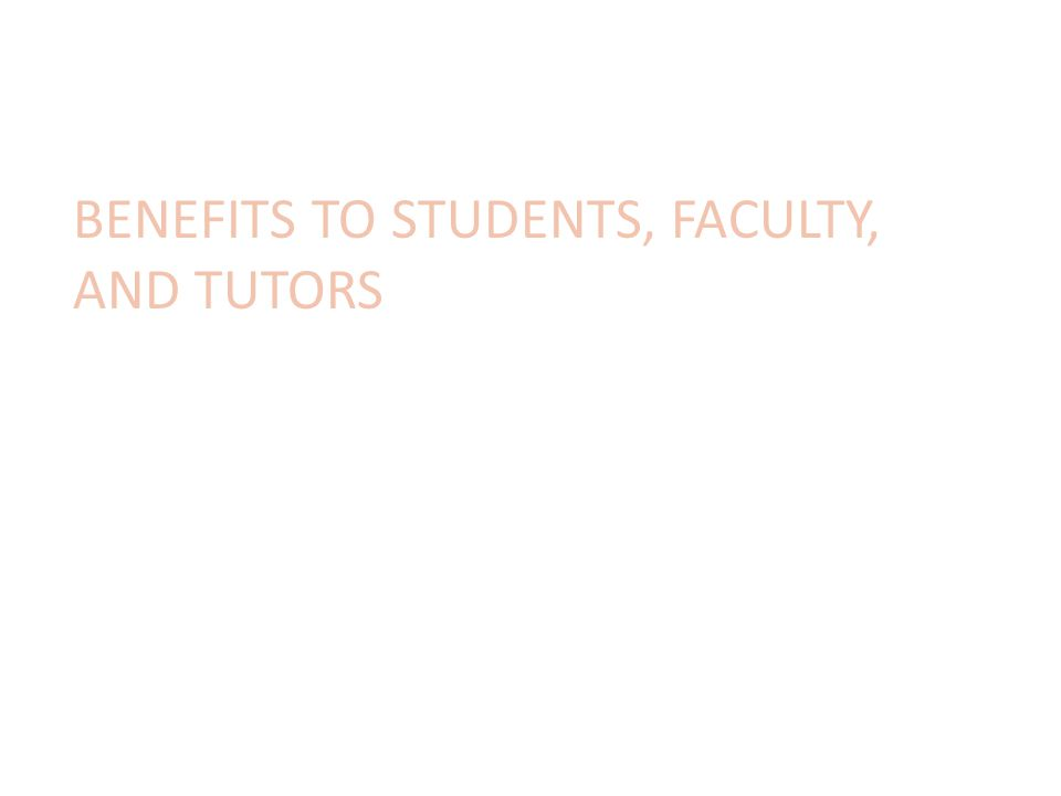 Benefits to DE Faculty