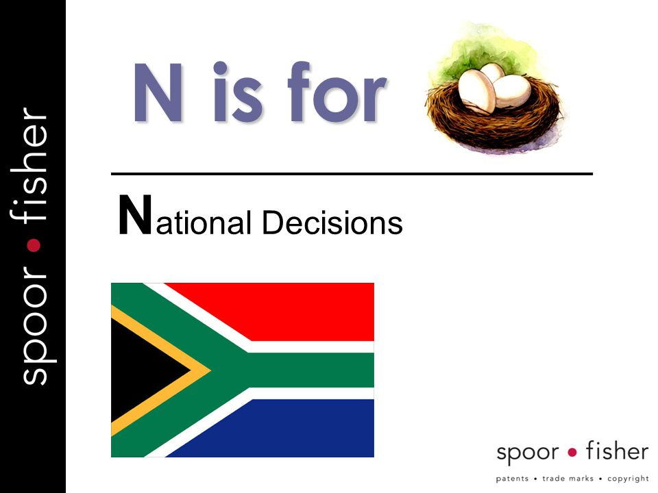 N is for N ational Decisions