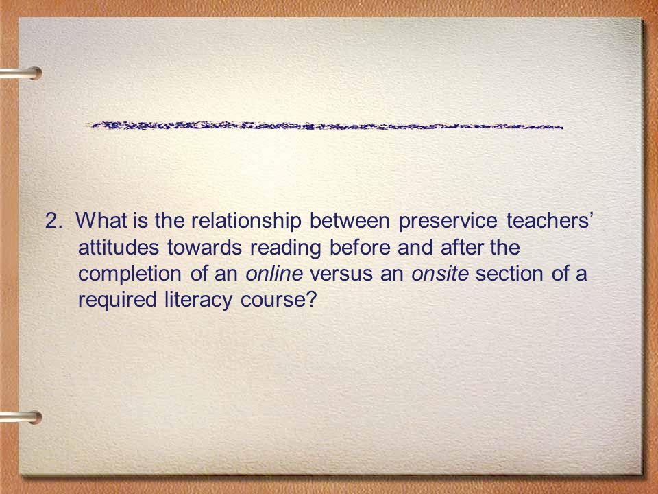 Question 1a, ASRA subscale Tutoring QN finding Participation in an online children ' s literature course did not impact respondents ' scores regarding the teaching of reading.