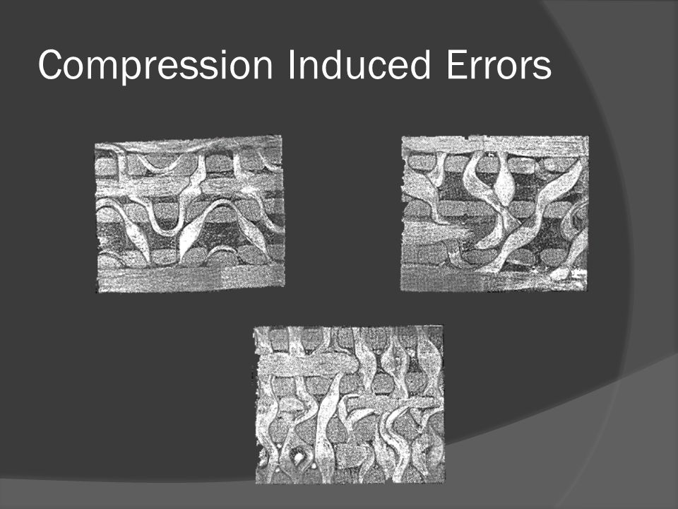 Compression Induced Errors
