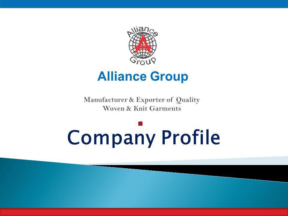 Company Profile Alliance Group