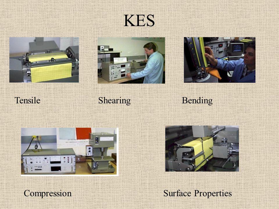 KES TensileShearingBending CompressionSurface Properties