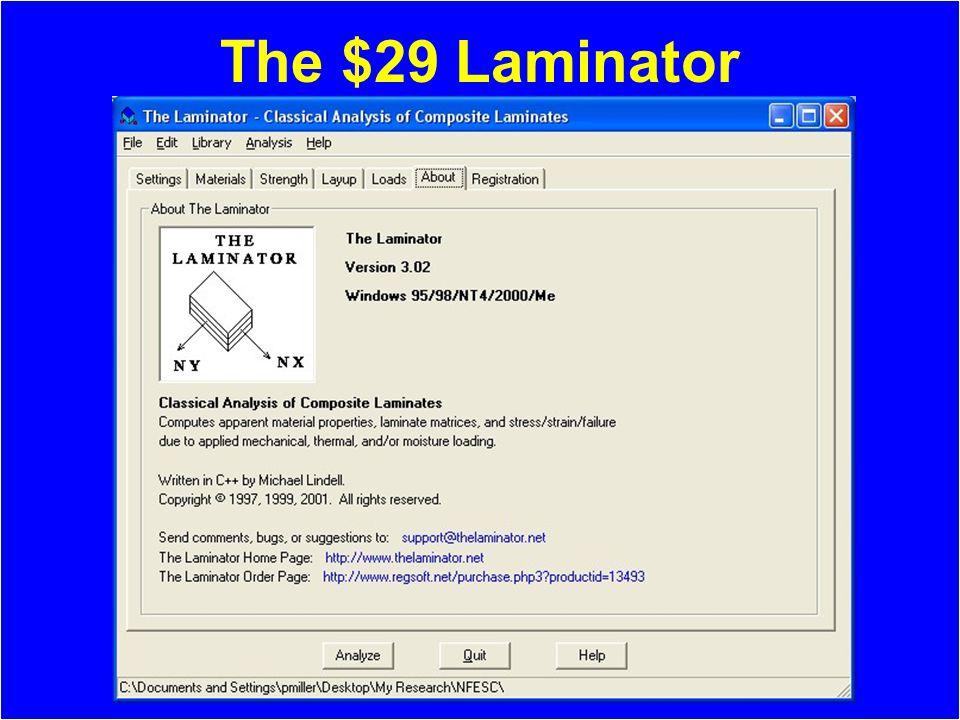 The $29 Laminator