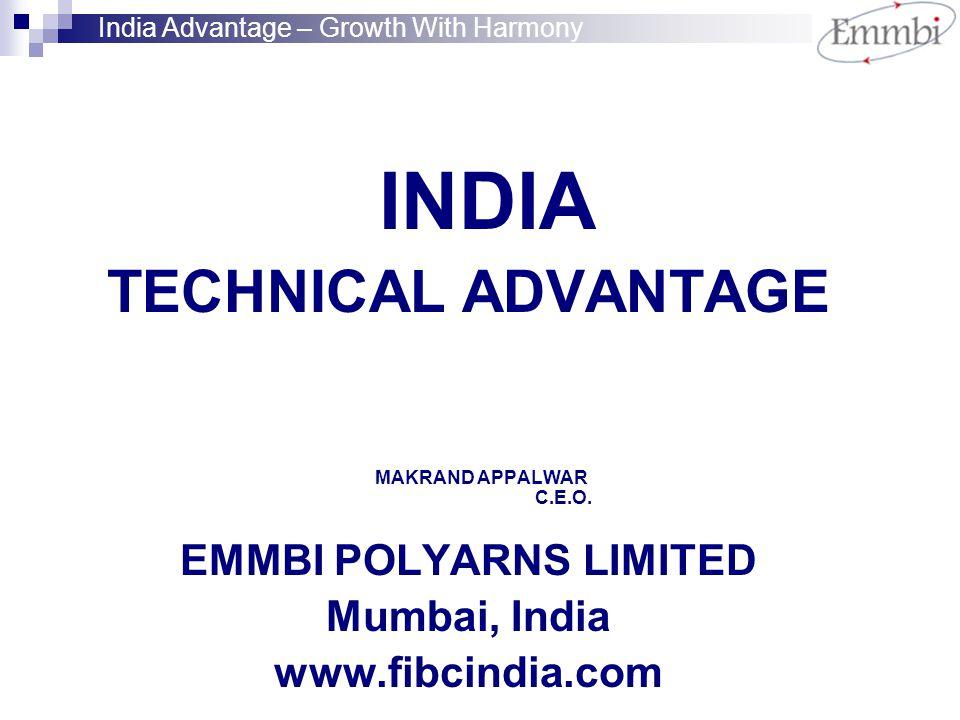 INDIA TECHNICAL ADVANTAGE MAKRAND APPALWAR C.E.O.