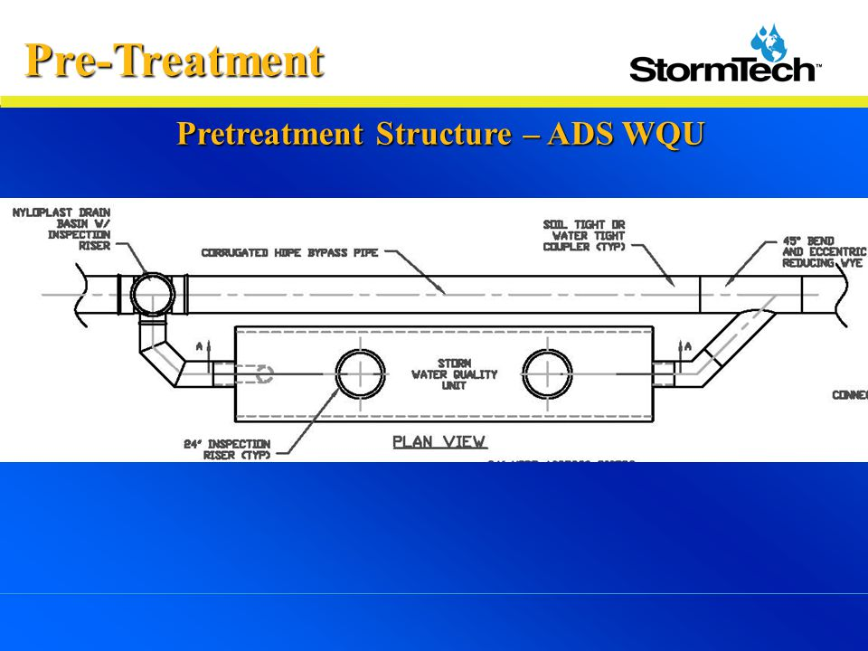 Pre-Treatment Pretreatment Structure – ADS WQU