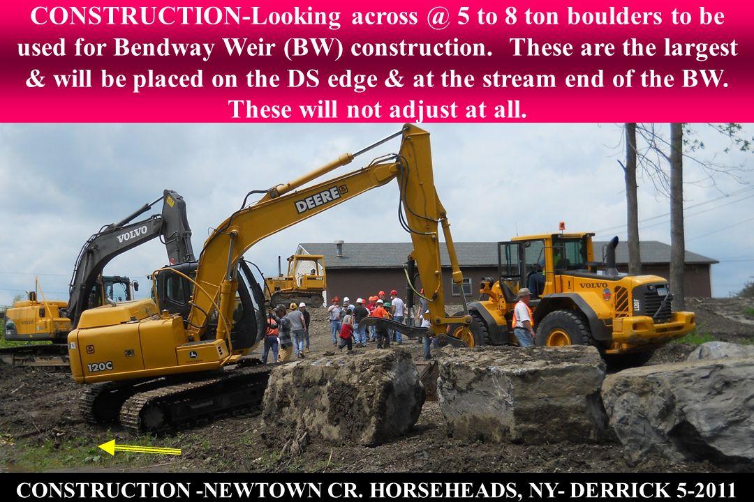 CONSTRUCTION -NEWTOWN CR.