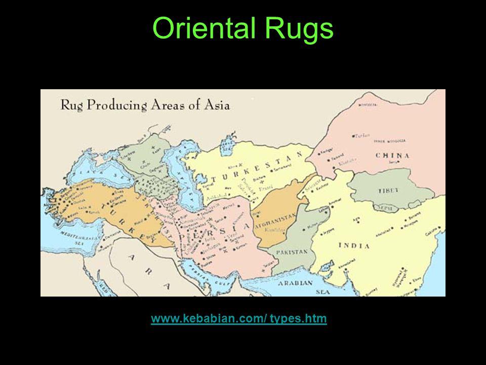 Oriental Rugs www.kebabian.com/ types.htm