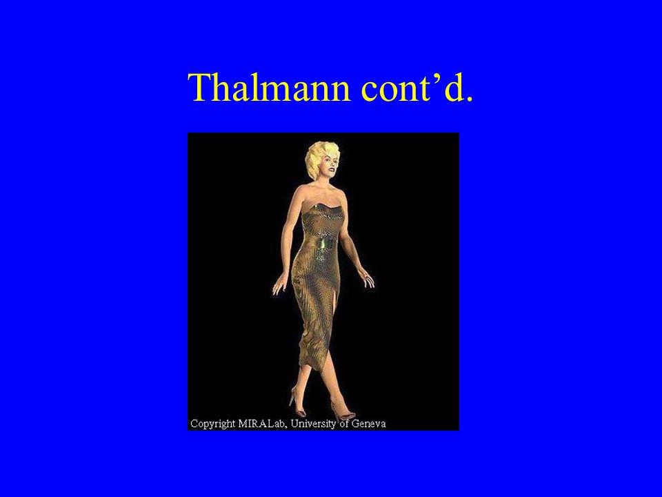 Thalmann cont'd.
