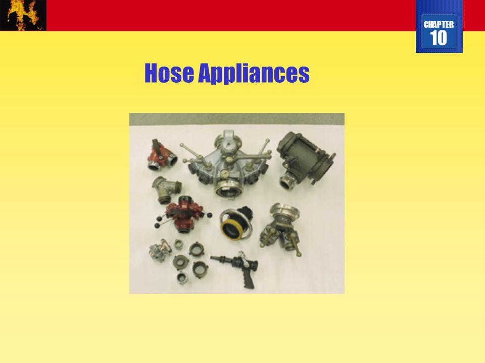 CHAPTER 10 Hose Appliances