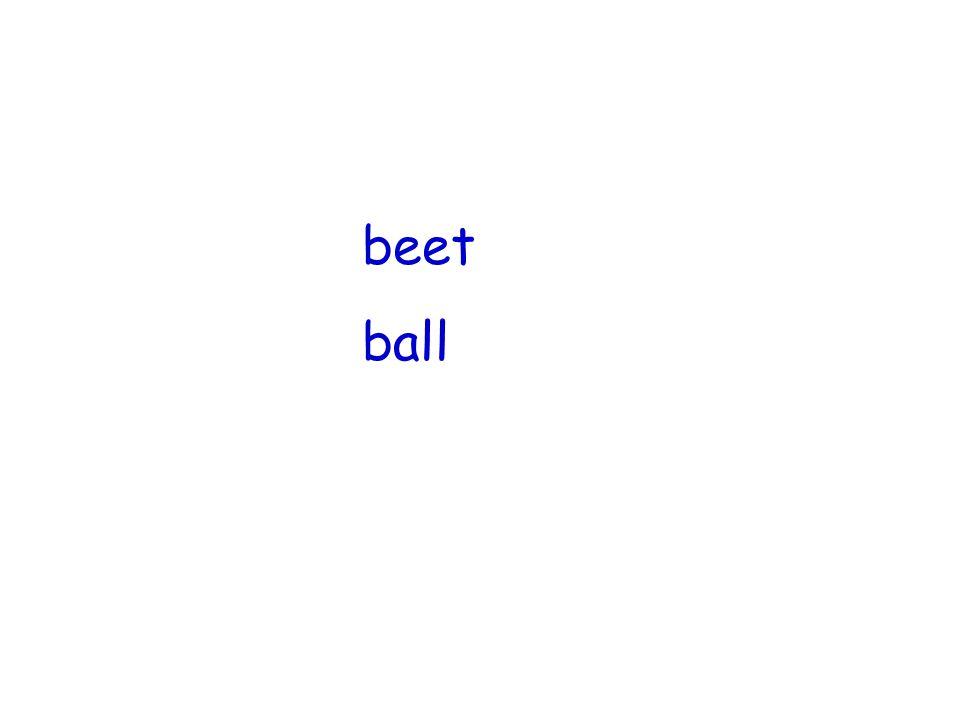 beet ball