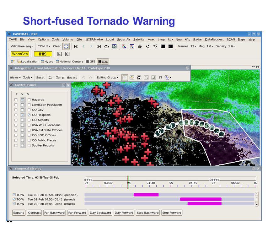22 Short-fused Tornado Warning