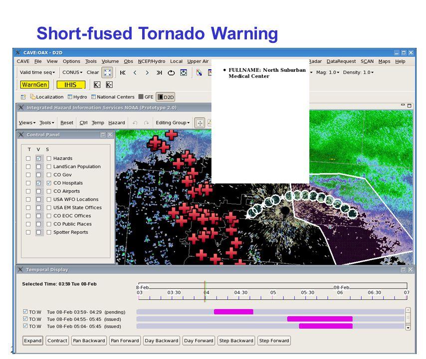 23 Short-fused Tornado Warning