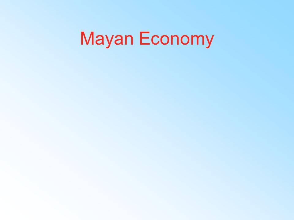 Mayan Politics 250 CE early classic period