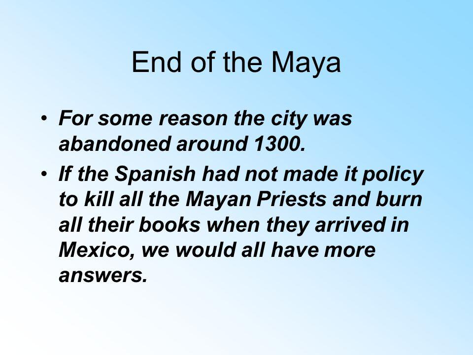 Mayan Military
